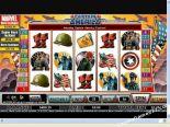 caça niqueis Captain America CryptoLogic