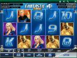 caça niqueis Fantastic Four Playtech