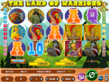 caça niqueis Land Of Warriors Wirex Games